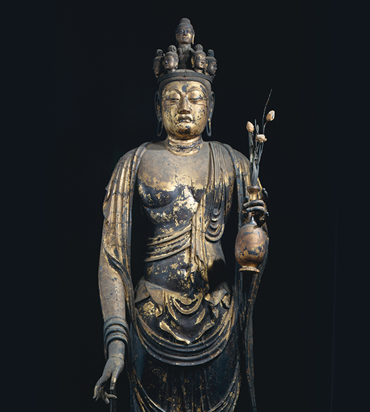 Button:Statue of Eleven-Faced Kannon